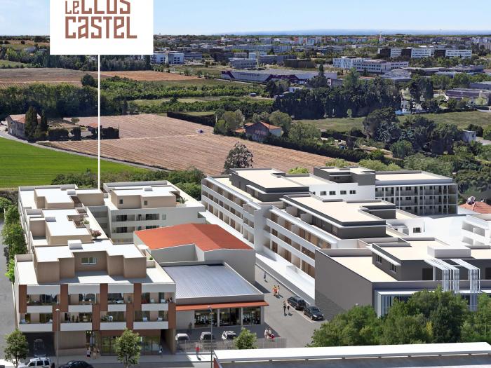 Programme neuf à vendre, Castelnau-Le-Lez (34170)