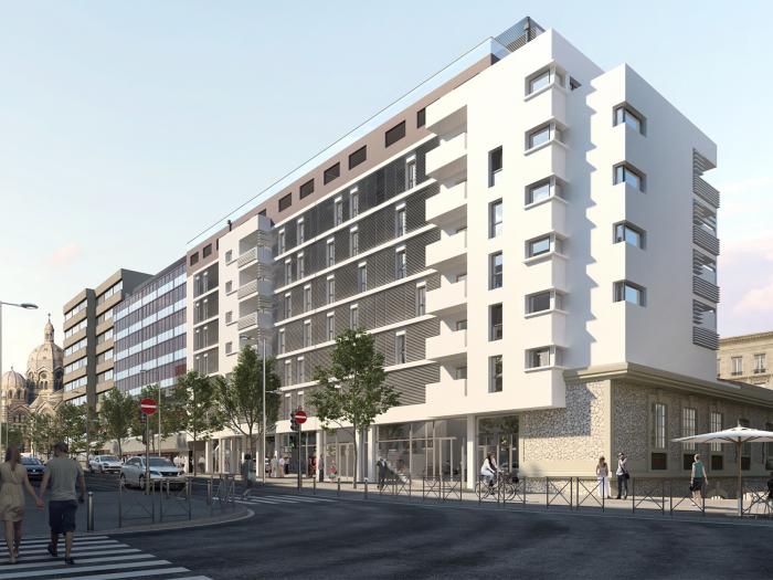 Programme neuf à vendre, Marseille (13002)